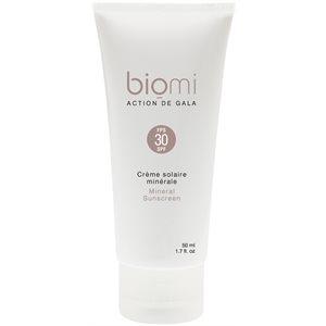 Crème solaire minérale FPS30 | Biomi